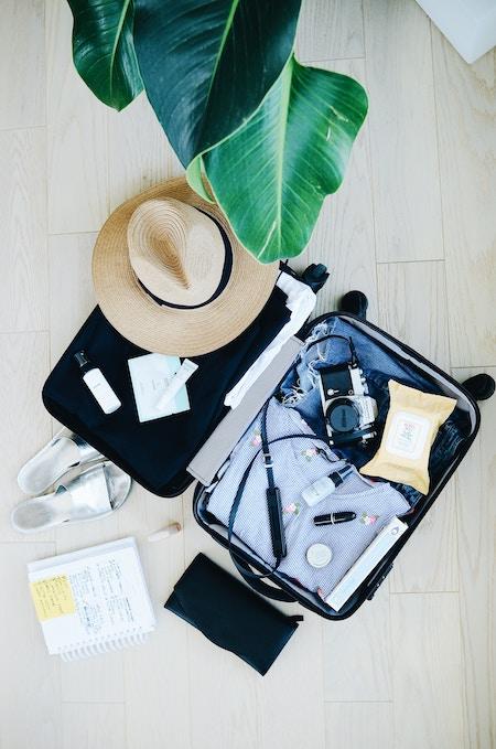 Empaca según tu itinerario de viajes