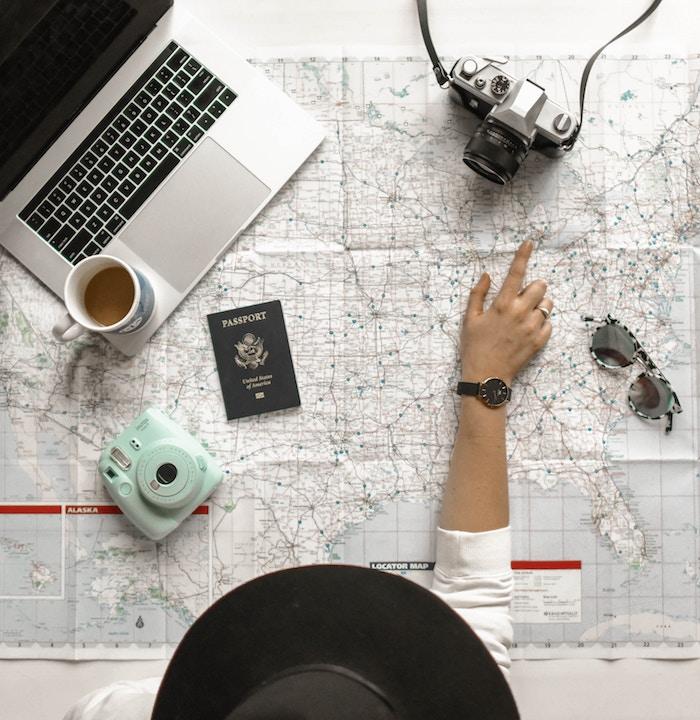 Así es cómo se hace un itinerario de viajes