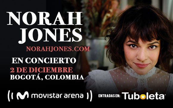 Norah Jones en Colombia