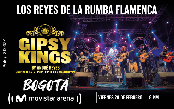 Gipsy kings en Bogotá